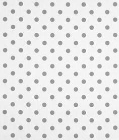 Premier Prints Polka Dot White/Storm Twill Fabric - $7.45 | onlinefabricstore.net Fabric for curtains?