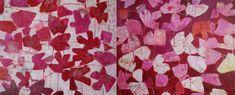 Reza Derakshani: Every Day & Every Night in red/pink