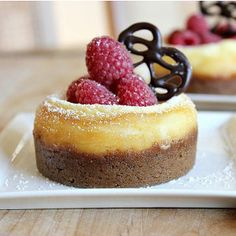 The Best Baked Mini Cheesecakes | TheBestDessertRecipes.com