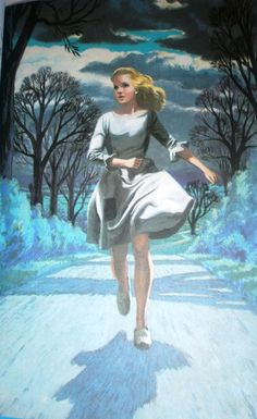 Vintage Ladybird Book: Cinderella runs home by Eric Winter, 1964 Eric Winter, Vintage Children's Books, Vintage Art, Cinderella Art, Ladybird Books, Vintage Fairies, Before Midnight, Children's Book Illustration, Botanical Illustration