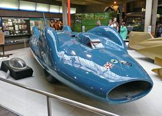 Bluebird CN7 Leatherhead resident Donald Campbell was the only man to hold the land and water speed records in the same year