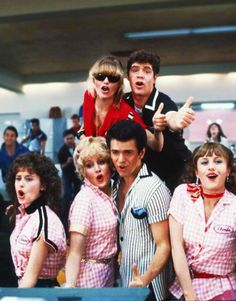 Grease was written as a satire, a fact that most people — who have, most likely, only seen the 1978 film — forget, because the movie got it wrong. Grease takes itself so seriously that it's hard to… Grease 2, Grease Movie, Movie Tv, Grease 1978, Official Disney Princesses, Grease Is The Word, New Line Cinema, Cinema Film, Rian Johnson