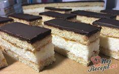 Czech Recipes, Ethnic Recipes, Nutella, Tiramisu, Cake Recipes, Cheesecake, Health Fitness, Treats, Sweet