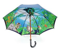 Free shipping Ghibli umbrella Hayao Miyazaki Totoro umbrella Ghibli Museum The anime Clear umbrella US $75.00