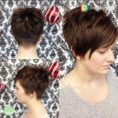 Very Short Haircut for Long Bangs - Women Short Hairstyles 2015