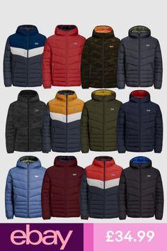 New Man Clothing, Mens Clothing Styles, Puffer Jackets, Winter Jackets, Outdoor Coats, Jack Jones, Swimwear Fashion, Vest Jacket, Winter Fashion
