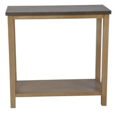 Threshold� Console Table - Brown  This would work really nicely behind your chair :) threshold has a lot of tables that would work there but this one is on sale