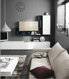 BoConcept Mezzo sofa & Volani wall System