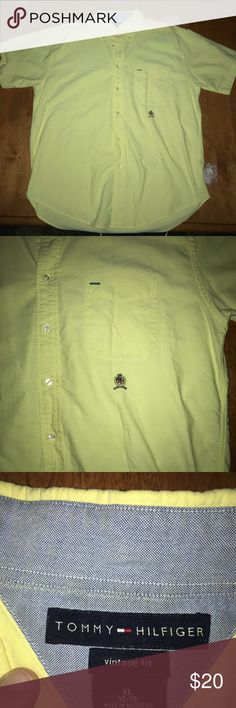 Tommy Hilfiger Button Down Shirt A truly vintage item that's in great condition. Ready for immediate use! Tommy Hilfiger Shirts Casual Button Down Shirts