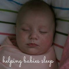 how to help babies sleep - simple tips to encourage good sleep habits (without crying!)