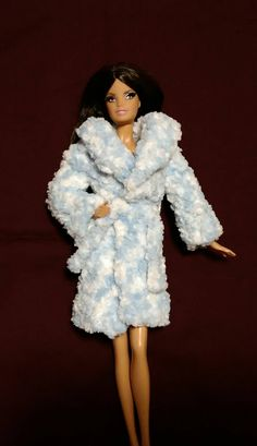 Barbie Style Glam Luxe Fashion Trenchcoat Jacket Complete Outfit Set HTF Mint