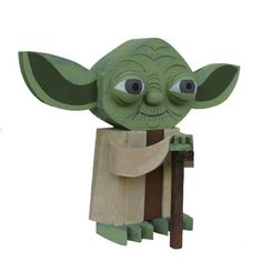 Wooden Star Wars idols