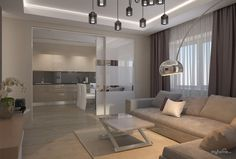 Квартира на Лескова Living Room Goals, Living Room Modern, Home Living Room, Interior Design Living Room, Living Room Designs, Living Room Decor, Living Spaces, Sweet Home Design, Apartment Interior Design