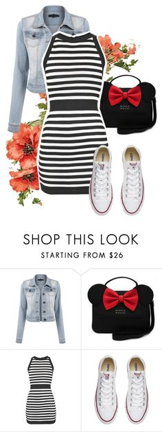 """Sorry"" by maananb ❤ liked on Polyvore featuring Balmain and Converse"