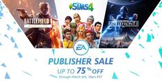 Check out the #EA sale that starts today. So many popular titles are on sale for up to 75%! Thanks for the heads up, Christoph! #videogame #videogames #game #games #gamer #gamers #gamergirl #gamerguy #gaming #gaminglife #gamerlife #gamestagram #instagaming #ps4 #playstation #xbox #xboxone #pc #pcgamer #pcgaming #pcgamers #sale #eagames