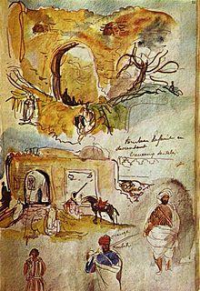 The Sultan of Morocco and his Entourage - Eugène Delacroix — Wikipédia