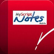 MyScript Notes Mobile: turns your iPad tablet into a real library of virtual notebooks!