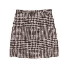 Missoni Tweed Mini Skirt ($192) ❤ liked on Polyvore featuring skirts, mini skirts, bottoms, saias, high waisted skirts, missoni skirts, button skirt, high-waisted skirts and short tweed skirt