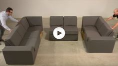 Video of Home Reserve sectional being assembled. Love Sac Sectional, Lovesac Couch, Family Room Sectional, Multipurpose Furniture, Modular Furniture, Leather Furniture, Cool Furniture, Studio Loft Apartments, Layout