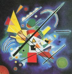 Blaues Bild - 1924 - Kandinsky Vassili - Opere d'Arte su Tela - Listino prodotti - Digitalpix - Canvas - Art - Artist - Painting