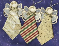 Make Your Own Christmas Ornaments made out of material   ... Handmade Embroidery Christmas Variety Fabric Ornaments 5072   eBay