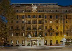 5-star hotel in Rome, on Via Veneto, the star of La Dolce Vita.
