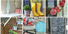 front porch decorating ideas summer | SNAP! - creativity at your fingertips