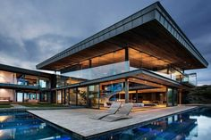 Sumptuous Contemporary Architecture in South Africa: Cove 3 House by SAOTA