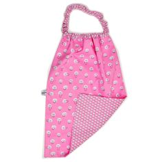 Serviette cou elastique spotlight coton biologique baby bib organic fabric