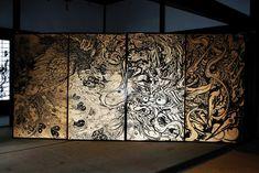 京都・妙心寺退蔵院 村林由貴 襖絵