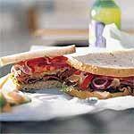 Deluxe Roast Beef Sandwich Recipe | MyRecipes.com