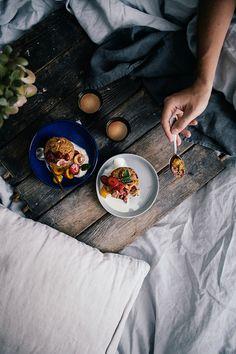 Muffiny pełne mirabelek i truskawek