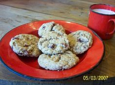 Oatmeal Berry Cookies