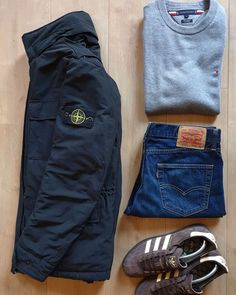 Football Casual Clothing, Football Casuals, Men Style Tips, Style Men, Men's Style, Air Max 95 Mens, Moda Casual, Casual Outfits, Fashion Outfits