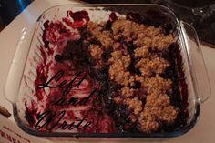 Left and Write: Black Raspberry Crisp - Gluten Free