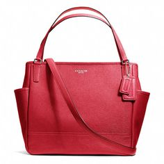 Coach Saffiano leather baby bag  Hmmm maybe it will come in yellow by the time I've paid off my student loans and Katherine has a kid