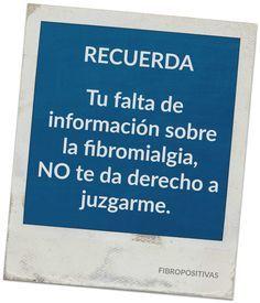 Blog personal sobre la fibromialgia y otros síndromes de sensibilización central