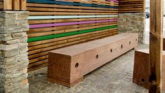 THORS Gamma plint #outdoorbench #bench #reclaimedwood #upcycling
