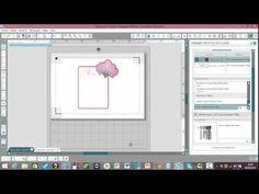 comment imprimer et couper avec la silhouette cameo fonction print and cut - YouTube
