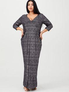 Little Mistress Curve V-neck Sequin Maxi Dress - Purple Sequin Maxi, Pink Sequin, Curve Dresses, High Leg Boots, Purple Dress, Dress Outfits, Curves, Sequins, Glamour