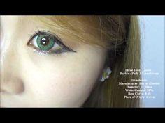 Barbie Puffy 3 Tones Green
