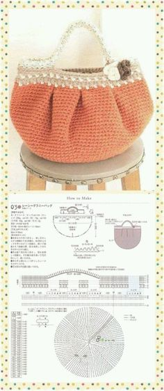 46 trendy ideas for crochet purse handles ideas mk bags Bag Crochet, Crochet Diy, Crochet Clutch, Crochet Handbags, Crochet Purses, Crochet Chart, Love Crochet, Beautiful Crochet, Crochet Stitches