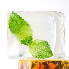 Do your ice cubes a favor and freeze in a lot of flavor! These 21 cool cube combos will amp up the taste--and look--of your summer drinks. Summer Drinks, Cocktail Drinks, Fun Drinks, Summer Food, Cold Drinks, Beverages, Ice Cube Recipe, Flavored Ice Cubes, Cool Cube