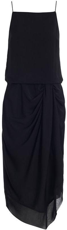 Drape Slip Dress