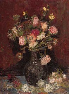 Van Gogh, Vase w/ Autumn Asters, 1886 http://www.vangoghmuseum.nl/vgm/index.jsp?page=1769=en