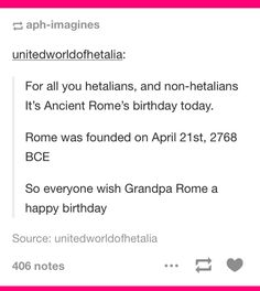 """Oh yeah I remember my ancient history teacher telling the class this; he does a """"this day in history"""" thing everyday"""