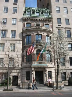 American Irish Historical Society, Upper East Side