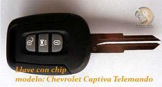 Modelo: Telemando para Chevrolet Captiva