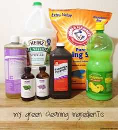 green cleaning recipes. Chemicals found in most cleaning products available in stores are terrible for your family's health!