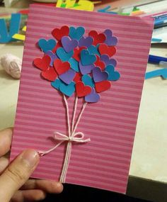 Paper Flowers Craft, Flower Crafts, 5 Min Crafts, Diy And Crafts, Valentine Special, Valentine Gifts, Diy Paper, Paper Crafts, Diy Letters